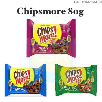 READY STOCK CHIPSMORE MINI ORIGINAL / DOUBLE CHOC 80GRAMS