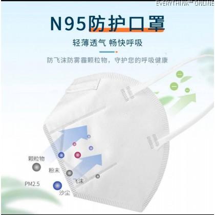 N95 MEDICAL GRADE FACE MASK 5PLY RESPIRATORY 99% SURGICAL GRADE HOSPITAL USE 百医卫仕N95口罩医用口罩防尘口罩灭菌级